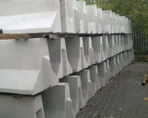 Concrete Crash Barrier Hire