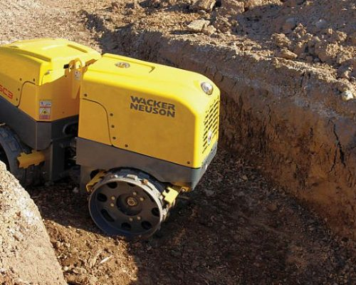 Trench Roller Hire